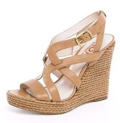 His wedge sandals are beyond comfortable. Wiley Wedge Espadrille Sandal, KORS by Michael Kors