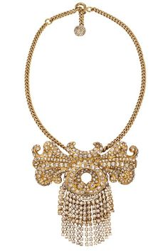 Loewe Necklace - Gold Jewelry and Accessories for August 2012 - Harper's BAZAAR