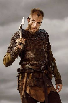 Vikings season 3 loki l Cast Promotional Pictures