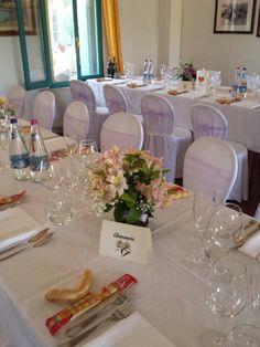 Segna tavoli. Tema dei fiori