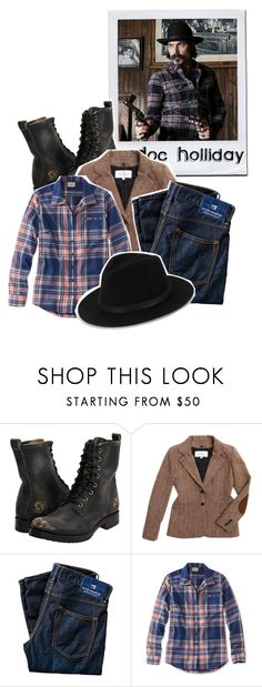 """""""what is better than dynamite? [doc holliday]"""" by nyssa-fire ❤ liked on Polyvore featuring Frye, Veronica Beard, Scotch & Soda, L.L.Bean and Saks Fifth Avenue"""