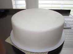 Buttercream that is as smooth as fondant