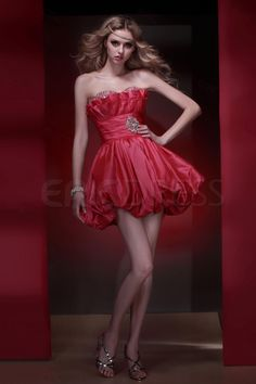 Gorgeous A-Line Sweetheart Mini-Length Empire Waistline Dasha's Homecoming/Sweet Sixteen Dress Homecoming Dresses- ericdress.com 8883804