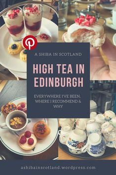 The best High Teas in Edinburgh Best Tea, Edinburgh Scotland, Master Plan, Shiba, High Tea, Teas, Afternoon Tea, Sweet Tooth, Europe
