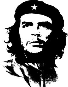 practice temporary: Free stencils for everyone! Portrait Vector, Portrait Art, Che Guevara Tattoo, Che Quevara, Che Guevara Images, Revolution Poster, Tupac Art, Tableau Pop Art, Gravure Laser