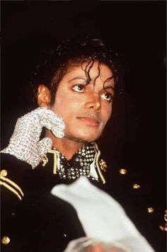 His eyes are beautiful. When you look into someone eyes, you look through the window to their soul, and Michael's soul was truly beautiful.