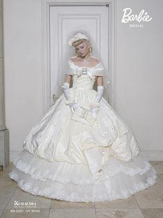 BARBIE brand wedding dress
