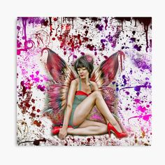 My Canvas, Canvas Prints, Art Prints, Fairy Land, My Arts, Tapestry, Printed, World, Awesome