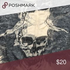 Skull scarf Gently worn Other