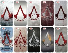 Assassins Creed Logo Cell Phone Cover For Sony Xperia Z Z1 Z2 Z3 Z4 Z5 Compact Mini E4 M C1904 C1905 M2 M5 C3 C4 SP M35h Case