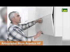 Articulador Blum Aventus HF - YouTube