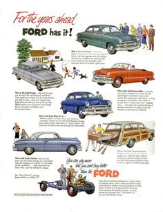 1951 Fords