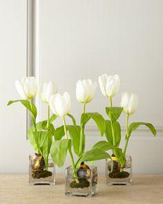 H77Y0 Faux Tulips