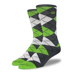 The Michael - Men's Argyle from Mitscoots Socks. Every pair is helping the homeless get socks and work. www.mitscoots.com