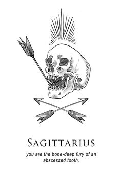 Amrit Brar's Portfolio - Book II: Anger: Saggittarius