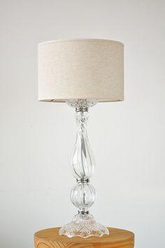 Table Lamp, Lighting, Home Decor, Vintage Decor, Glass, Bottles, Lights, Appliques, Objects