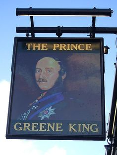 The Prince - Pub Sign