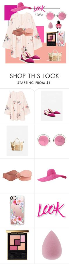 """Colores de Temporada"" by shopperstyle on Polyvore featuring moda, MANGO, Christian Lacroix, Casetify, NYX y Yves Saint Laurent"