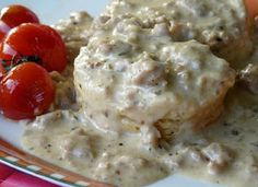 Sausage Biscuit and Gravy Casserole- This recipe was a little too dry for my liking, but the taste was good. Probably won't do this one again.