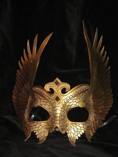 Feather Crown mask