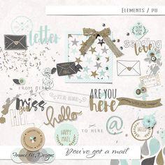 You've Got A Mail - Elements | France M. Designs