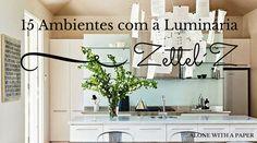 15 Ambientes com a luminária Zettel'z in Alone With a Paper  *Clique para ver o post completo*