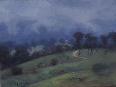 ORIGINAL OIL PAINTING AFTER THE RAIN BODALLA