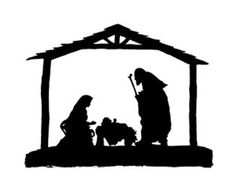 Nativity silhouette free christian christmas nativity clipart in free christian nativity clipart collection - ClipartXtras Nativity Clipart, Nativity Crafts, Christmas Nativity, Noel Christmas, Christmas Projects, All Things Christmas, Holiday Crafts, Christmas Ornaments, Christmas Design