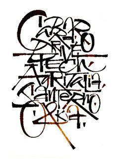 Luca Barcellona- Calligraphy