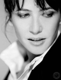 French Actress Sophie Marceau.