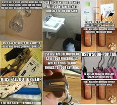 ✯✯✯Shut the front door!  I wish I would have known some of these years ago!!  DIY~Handy Hints for the House✯✯✯