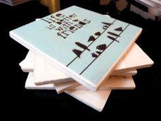 Ceramiczna Frajda---Dekor/podkładka/kafelka (proj. FRAJDA)