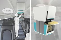 Hover Carts Make Plane Rides Easy