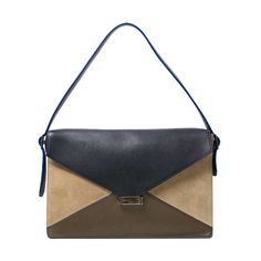 e7ab5b5cb25f8 Labellov Céline Multicolor Suede Diamond Clutch Bag ○ Buy and Sell  Authentic Luxury