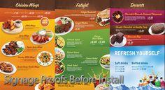 Custom Restaurant Menu Boards | Custom Digital Signage
