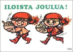 70-luvulta, päivää !: Joulukortti x 2
