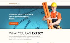 Best Plumber WordPress Templates for Your Future Website Future Website, Go Online, Now What, Wordpress Template, Plumbing, Dublin, Templates, Number, Create
