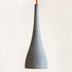 FLOS concrete pendant lamp inspired by Ocun bud. by Tomas Vacek, via Behance