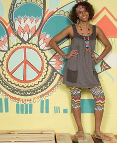 I want this outfit!  NEW! ZigZaggy Organic Leggings