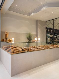 fotografia-arquitectura–interiorismo-valencia-german-cabo-estudihac-restaurante-tipics-xativa (2) Bakery Decor, Bakery Interior, Restaurant Interior Design, Shop Interior Design, Resturant Interior, Cake Shop Design, Coffee Shop Design, Bakery Design, Cafe Design