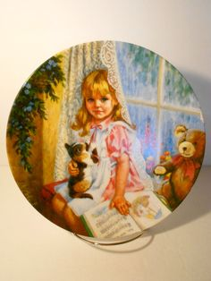 Vintage John McClelland Collectible Plate by StoriesOfYesterday