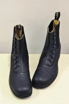 """""""BUTTONED SIDEGORE BOOTS"""" https://sumally.com/p/565006"""