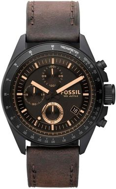 CH2804 - Authorized Fossil watch dealer - MENS Fossil DECKER, Fossil watch, Fossil watches