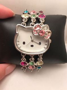 Mini Ghosts Hello kitty Key chain Modelling of the zombie Bell key chain Toy 03