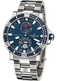 Ulysse Nardin - Marine Diver 45mm - Titanium - Bracelet Watch 263-90-7M/93
