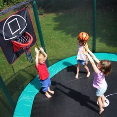 trampolines panier de basket