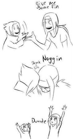 This is so cute omg. Sasuke and Itachi: