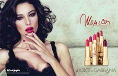 Dolce & Gabbana Monica lipstick campaign featuring Monica Bellucci