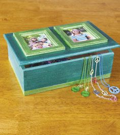 DIY Frame Box from Joann.com   Create your own jewelry box