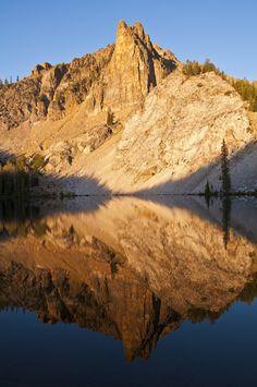 Morning reflections on Hatchet Lake, Idaho
